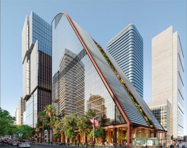 Proposed MLC Building Bates Smart