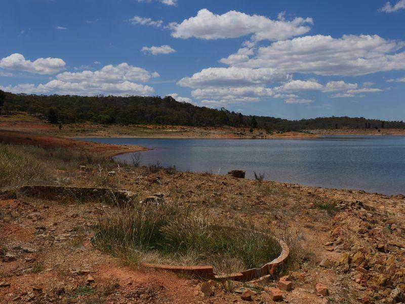 Photograph of a lake